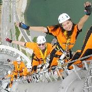 澳門旅遊塔百步登天-(Mast Climb)+香港往返澳門船票套票