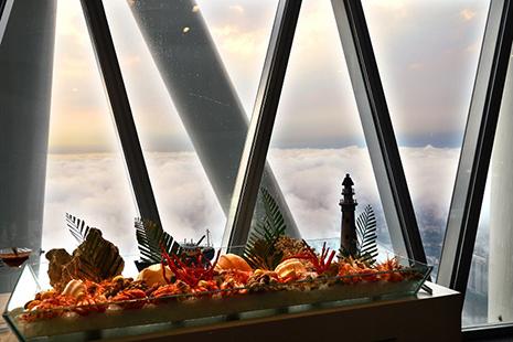 廣州塔106層璇璣地中海自助餐電子票,廣州塔自助餐,廣州塔旋轉餐廳