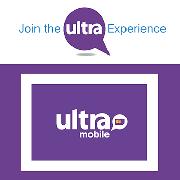 美國30天無限流量上網4G/3G電話卡(Ultramobile)