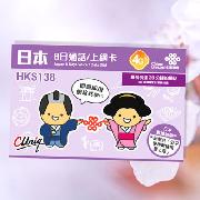 日本Softbank聯通8日4G無限數據卡(含約20分鐘通話)
