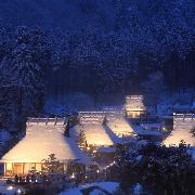 京都美山茅草屋頂之裏夜間點燈一日遊(中文領隊)