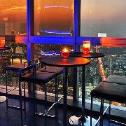 曼谷彩虹雲霄酒店83樓飲料+小吃+84樓觀景台