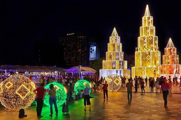 曼谷聖誕節2019 泰國聖誕節2019 曼谷聖誕節商場活動2019 曼谷暹羅天地ICONSIAM聖誕跨年活動 曼谷商場跨年2020