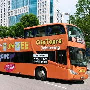 新加坡FunVee敞篷雙層觀光巴士一日通票