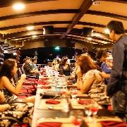 曼谷阿雷娜號夜遊湄南河私人包船(含自助晚餐)